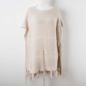 Lucky Brand Crocheted Poncho